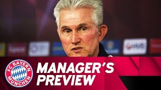 FC Bayern Manager's Preview w/ Jupp Heynckes ahead of Hannover 96 | #H96FCB | ReLive