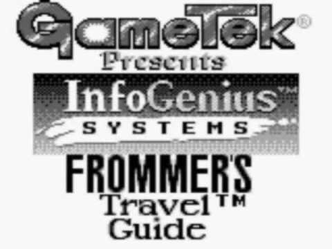 Nintendo Game Boy ► GB ► InfoGenius Systems - Frommer's Travel Guide