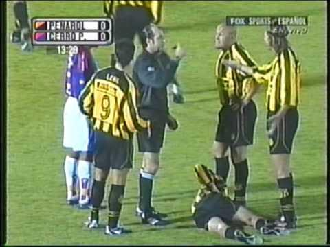 Peñarol vs Cerro Porteño-Copa Sudamericana 2004-Partido completo.
