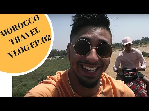JAVED ALMOST FELL OFF HIS HORSE IN MOROCCO! AGADIR TRAVEL VL