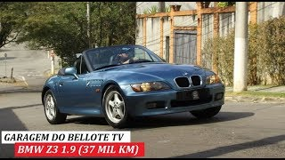 GARAGEM DO BELLOTE TV: BMW Z3 1.9 (37 MIL KM)