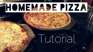Nic's Kitchen: Homemade Pizza