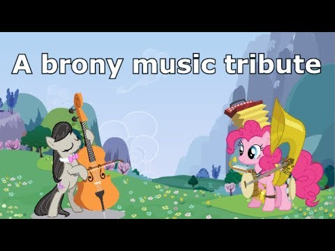 MEGA tribute to brony musicians (a lot of artists included!)