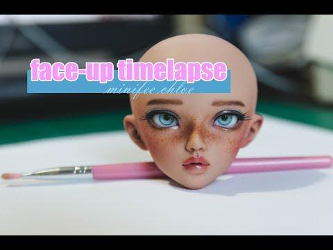 BJD Face-Up Process - Minifee Chloe