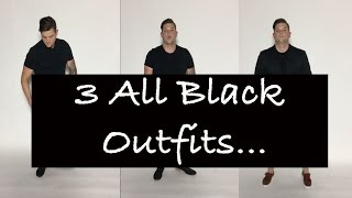 How To Wear All Black (3 Stylish Outfits)