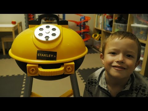 STANLEY® Jr. Toys Play Along | BBQ Grill | Brothers R Us!