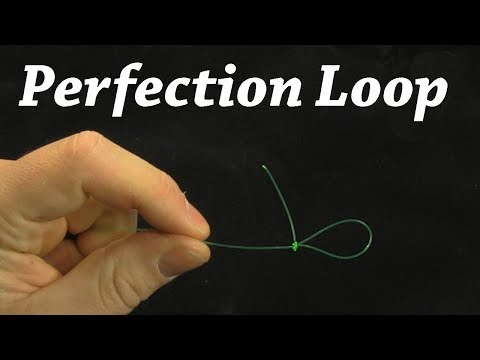 How To Tie A Perfection Loop Knot | Fishing Knot