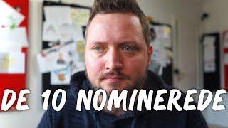 DE 10 NOMINEREDE VIDEOER!