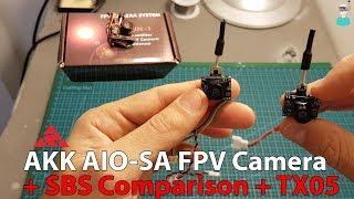видео AKK AIO-SA миниатюрная AiO камера