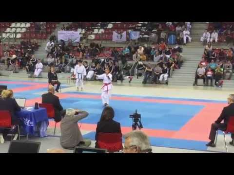 76 Rouen - Coupe de France Kata 2016.  KCC 36.