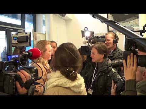 Journalists' Reception of FM Karin Kneissl in Vienna, 13th Feb 2018 - Instrumental