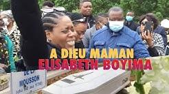 🔴VidéoChoc Enterrement de MAMAN ELISABETH BOYIMA à Evreux, ses enfants inconsolable na Cimetière 😭