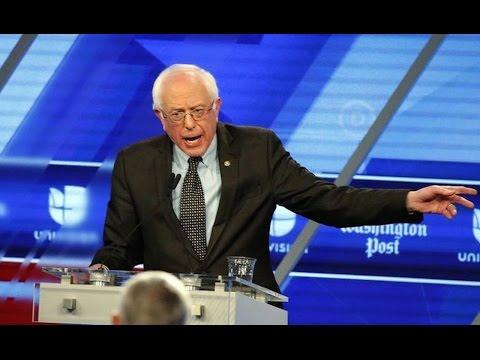 Bernie Sanders Crushes At Debate, Media Pretends It Didn