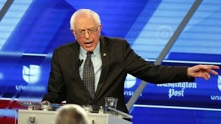 Bernie Sanders Crushes At Debate, Media Pretends It Didn