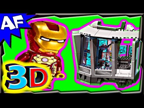 3D MALIBU MANSION Attack - Lego Iron Man 76007 Animated Building Review