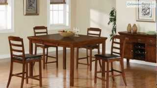 Jonas Counter Height Dining Room Collection From Coaster Furniture