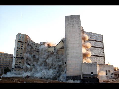 Baptist Hospital MBF Tower – Controlled Demolition, Inc.
