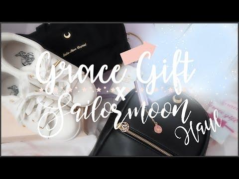 Sailor Moon x Grace Gift Collab Haul