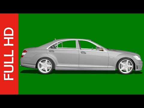 Car Green Screen