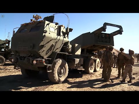 U.S. Marines Operate HIMARS in Australia for the First Time