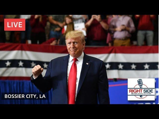 President Donald Trump Rally LIVE in Bossier City, LA 11/14/19 (RSBN Coverage)