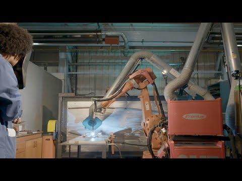 Reducing the environmental impact of manufacturing aeroplane parts
