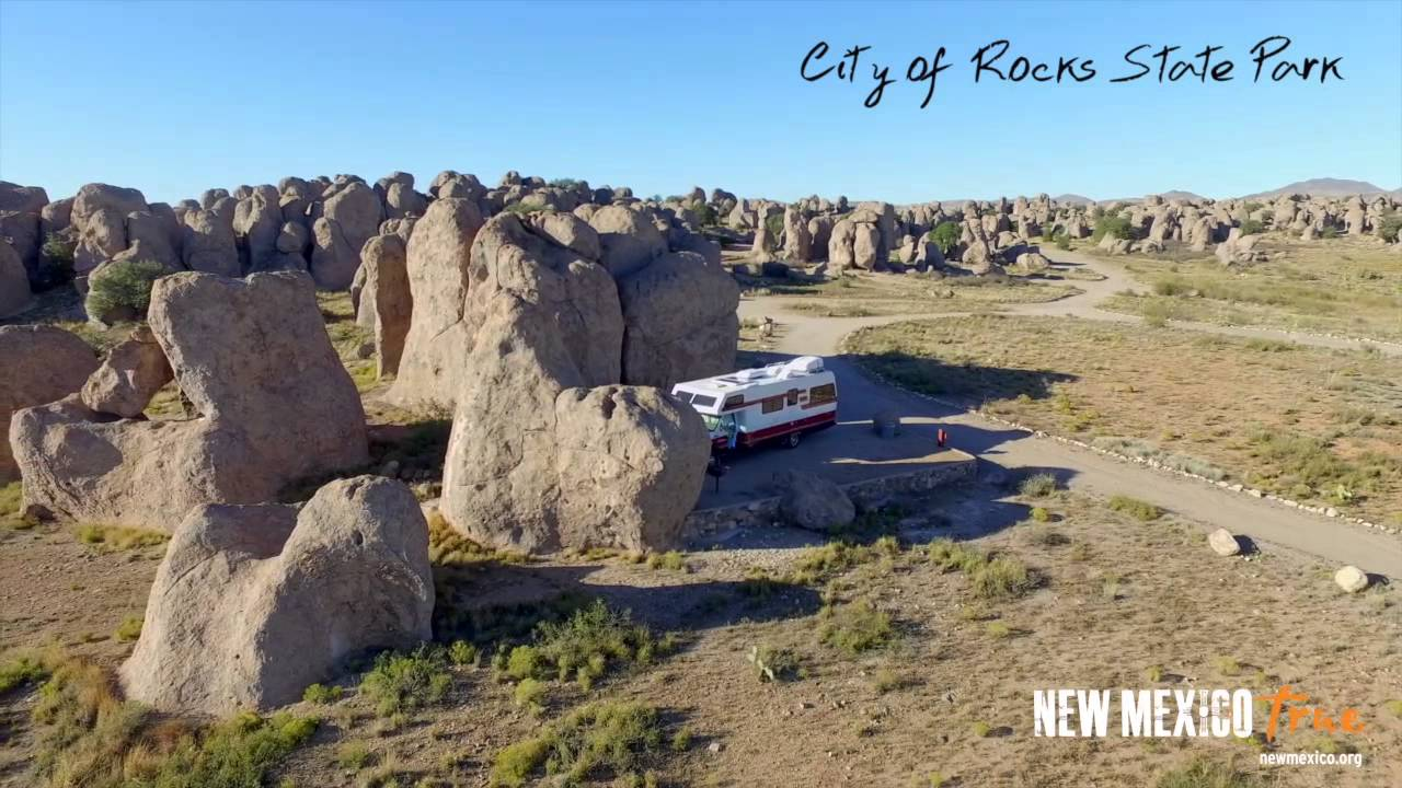 True OVERviews-City of Rocks State Park
