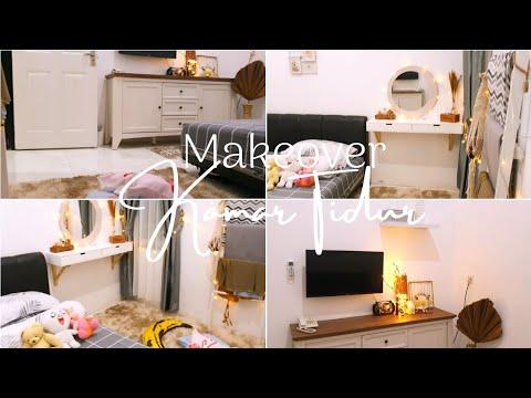 Makeover Kamar Tidur - Scandinavian Room Makeover - YouTube