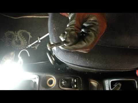 How to Change Replace Driver Seat Peugeot 206