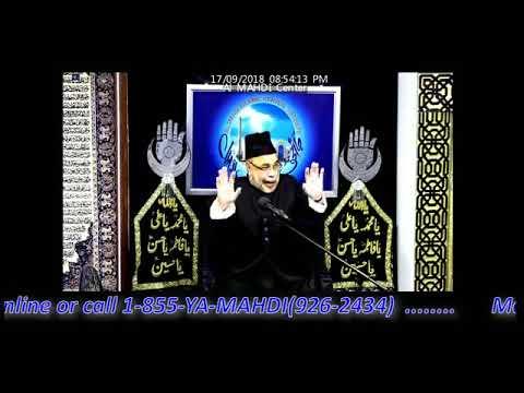 [Majalis] 7th Muharram 1440/2018 - Maulana Sadiq Hasan
