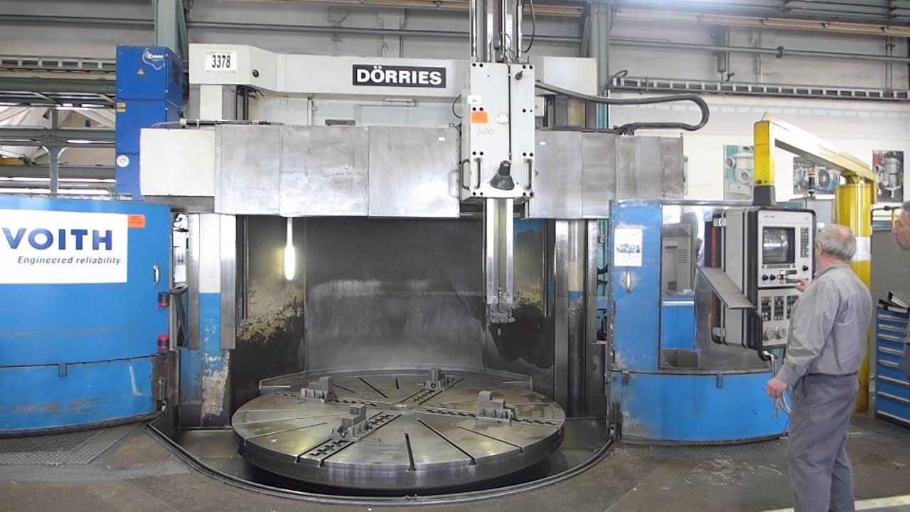 Array - cnc vertical borer dorries sd 300 karussel drehmaschine mach4metal      rh   youtube com