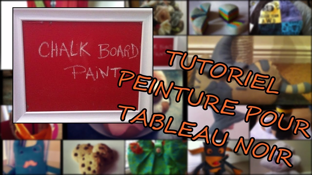 peinture pour tableau noir francais youtube. Black Bedroom Furniture Sets. Home Design Ideas