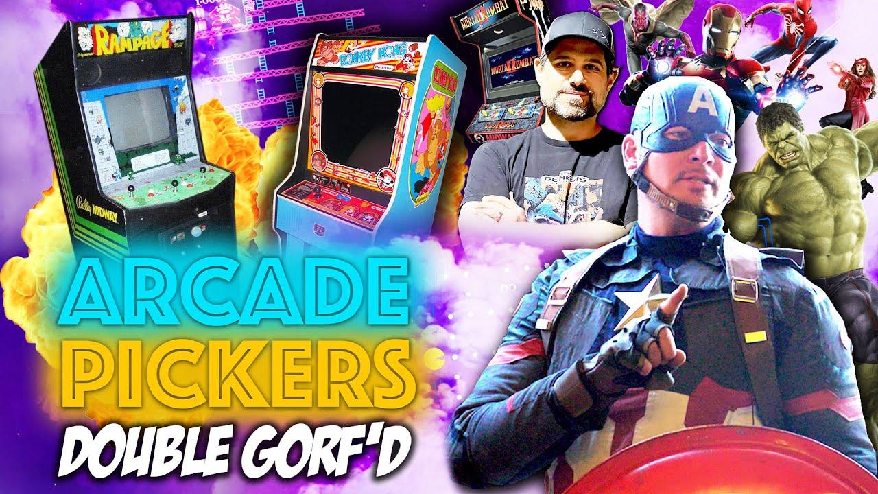 Arcade Pickers - Episode 3 - DOUBLE GORF'D