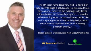 Investor Stream chats with: QX Resources Non-Executive Director Roger Jackson (February 10, 2021)