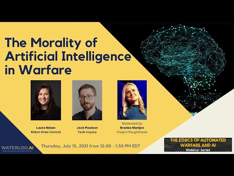 The Morality of Artificial Intelligence in Warfare