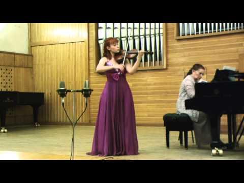 Maria Lazareva plays Mozart Violin Concerto no. 5 (III mov)