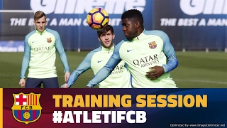 FC Barcelona training session: Recovery Monday with trip to Atlético on the horizon