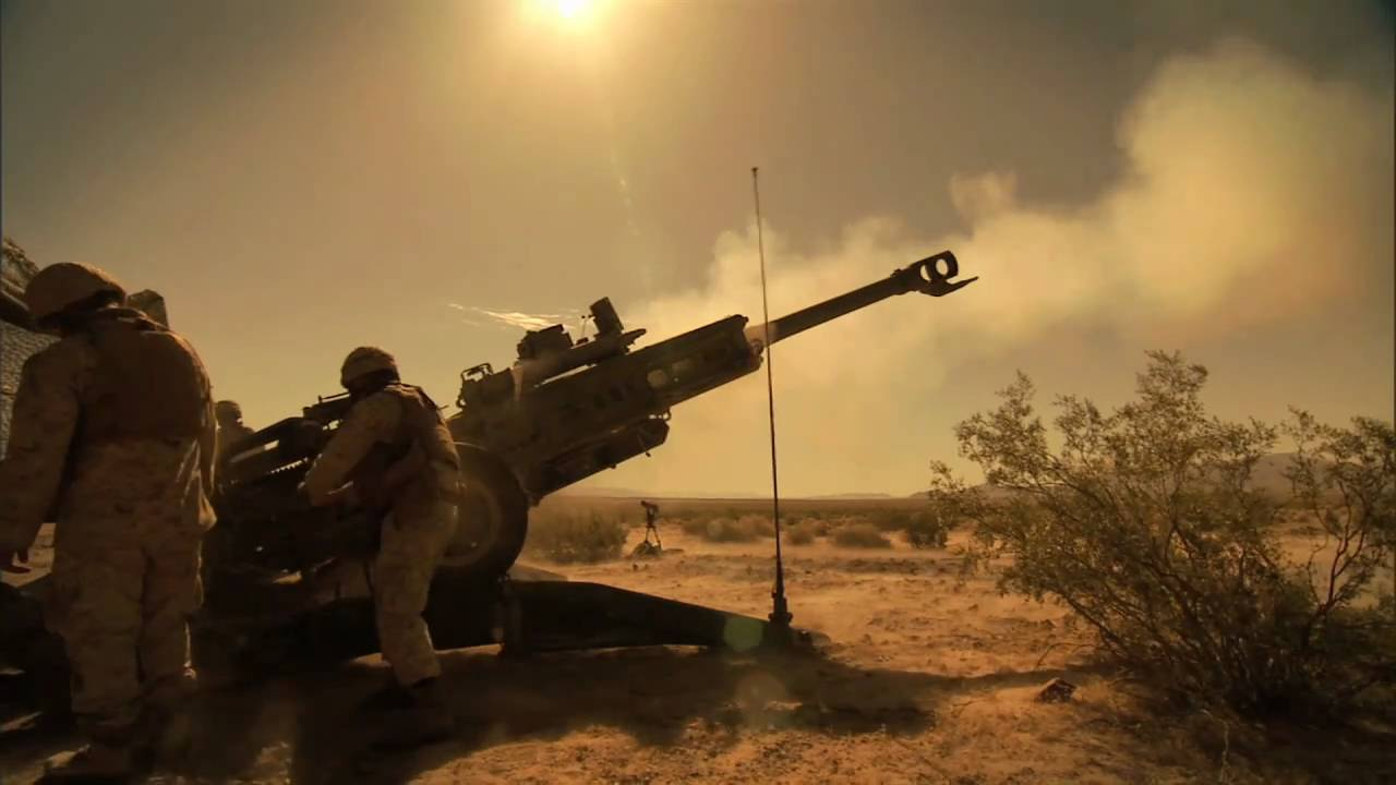 Roles in the Corps: Field Artillery - YouTube