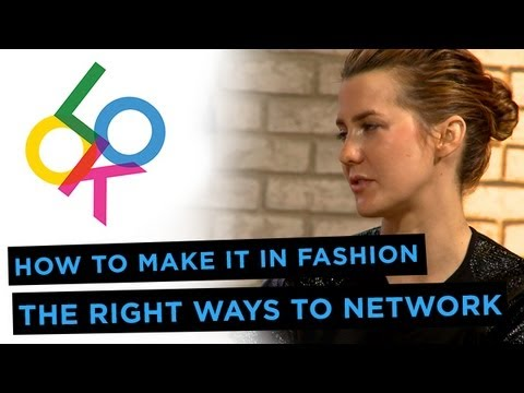 The Right Ways To Network Full Panel: How to Make it in Fashion from Fashionista