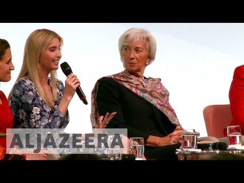 Ivanka Trump speaks at Berlin women
