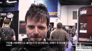 NAMM 2014 Paul Riario interview by Se-Hwang James Kim for Freebud