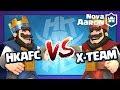 【Nova l Aaron 】公會友誼戰#11___【HKAFC】VS【X-TEAM】Aaron + Xiake雙解說