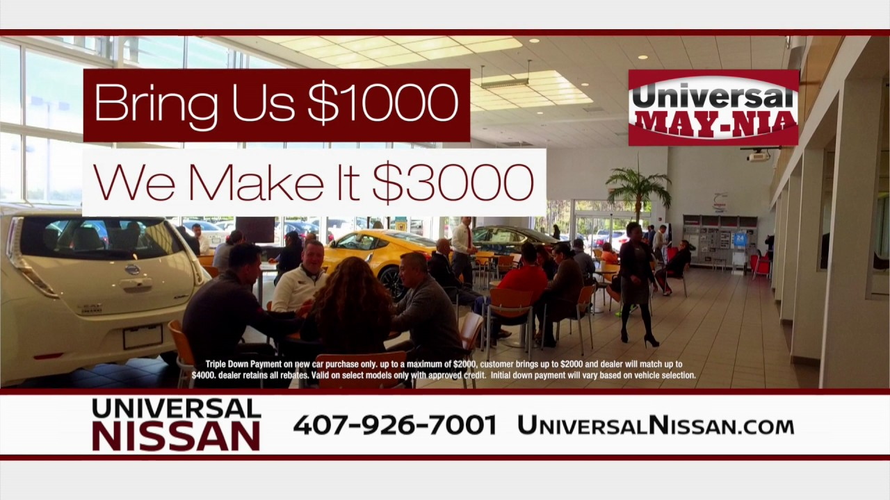 Universal Nissan - Check out a SENTRA today! - YouTube