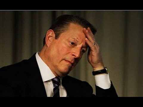 Al Gore Despair as Global Warming Scam Fails