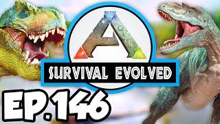 ARK: Survival Evolved Ep.146 - BASE UPGRADES, TAME HIGH LEVEL DINOSAURS (Modded Dinosaurs Gameplay)