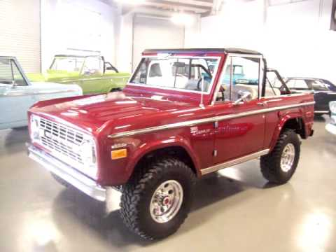 1972 Ford Bronco Lifted, Restored Start up and running  For Sale Now