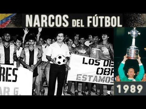 PABLO ESCOBAR y el NARCO Fútbol Colombiano (1989) ⚽💰🔫☠