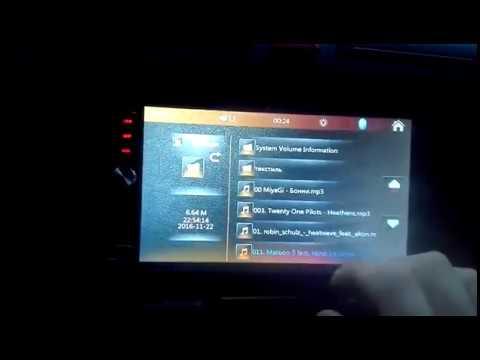 7012B 7 Inch Bluetooth V2 0 Car MP5 Player - BLACK