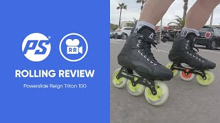 Reign Triton 100 hockey skates - Rolling Reviews
