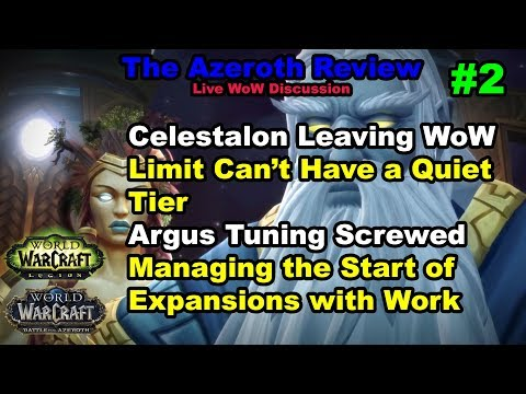 Mythic Argus Tuning, Limit Guild DDOS | The Azeroth Review #2 Weekly Live WoW Discussion